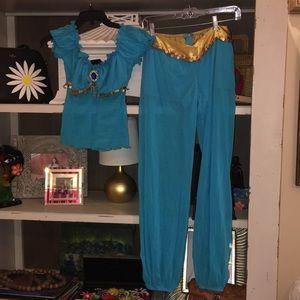 Ladies Jasmine Costume Size Small EUC
